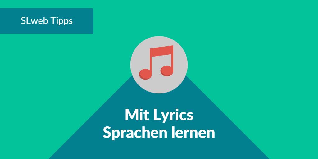 Sprachen lernen mit Lyrics