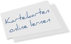 Karteikarten online lernen