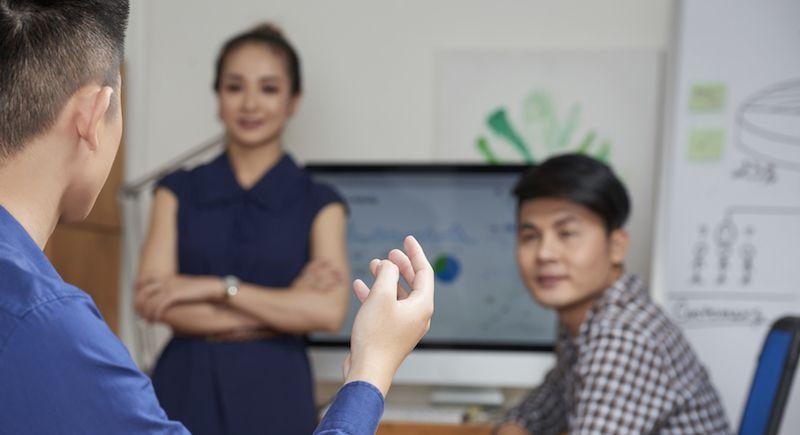 Unternehmer und Sprachkenntnisse